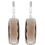 Stunning Smoky Quartz Earrings
